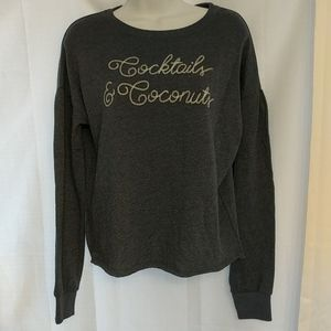 NWT Zoe + Live Graphic Crop Sweater